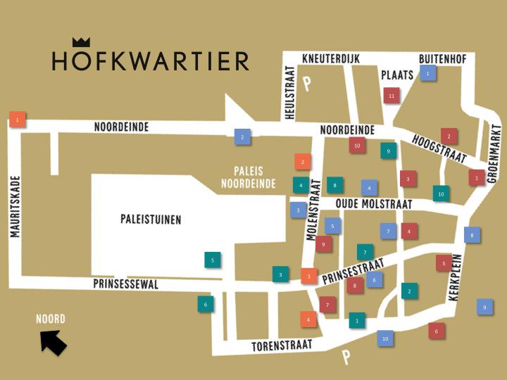 Wandelroutes Hofkwartier