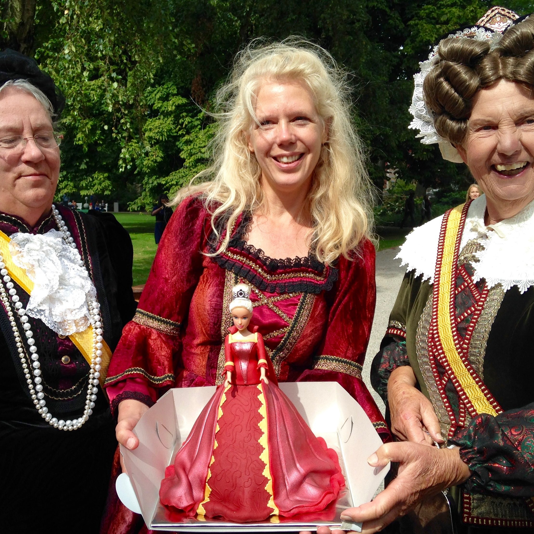 Haags-Historisch-Festijn-2016-Angelique-Schipper-Cake-du-Fortin-Koninginnen-Paleistuin