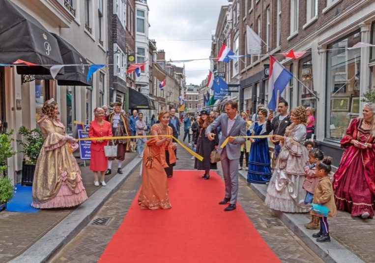 persfoto Molenstraat opening